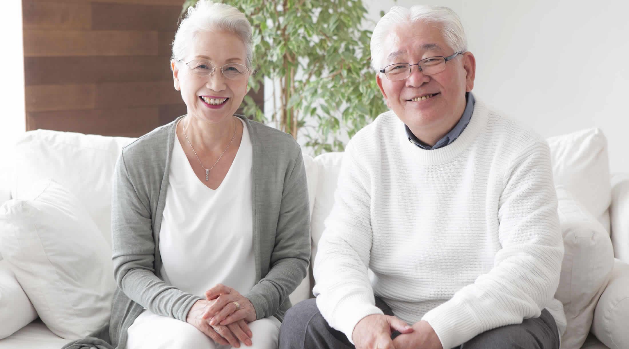 マイホームを貸したい老夫婦 シルバー