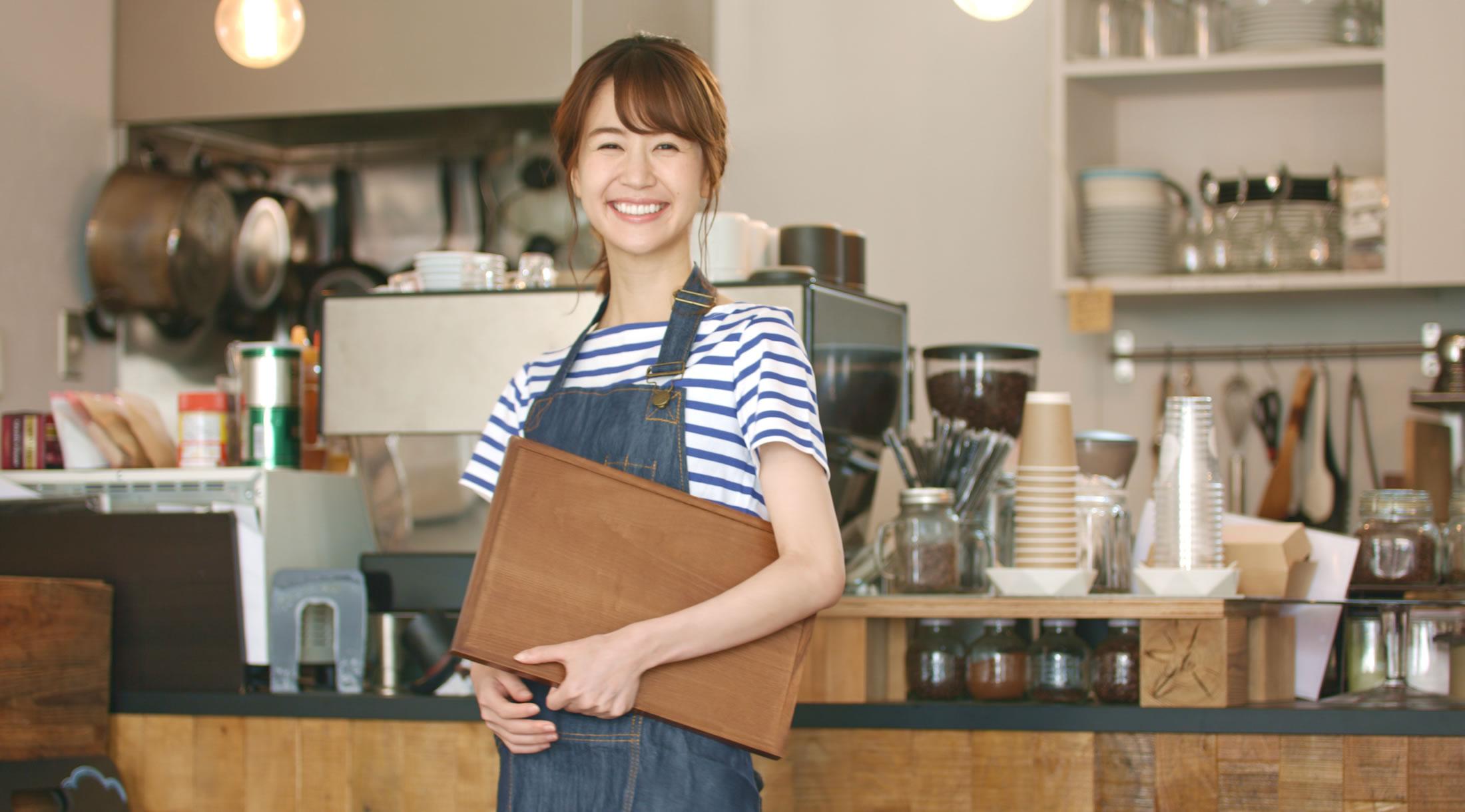 岩見沢市で出店したカフェ店主